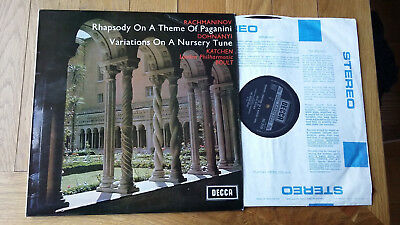 Rhapsody On A Theme of Paganini / Variations On A Nursery Tune LP