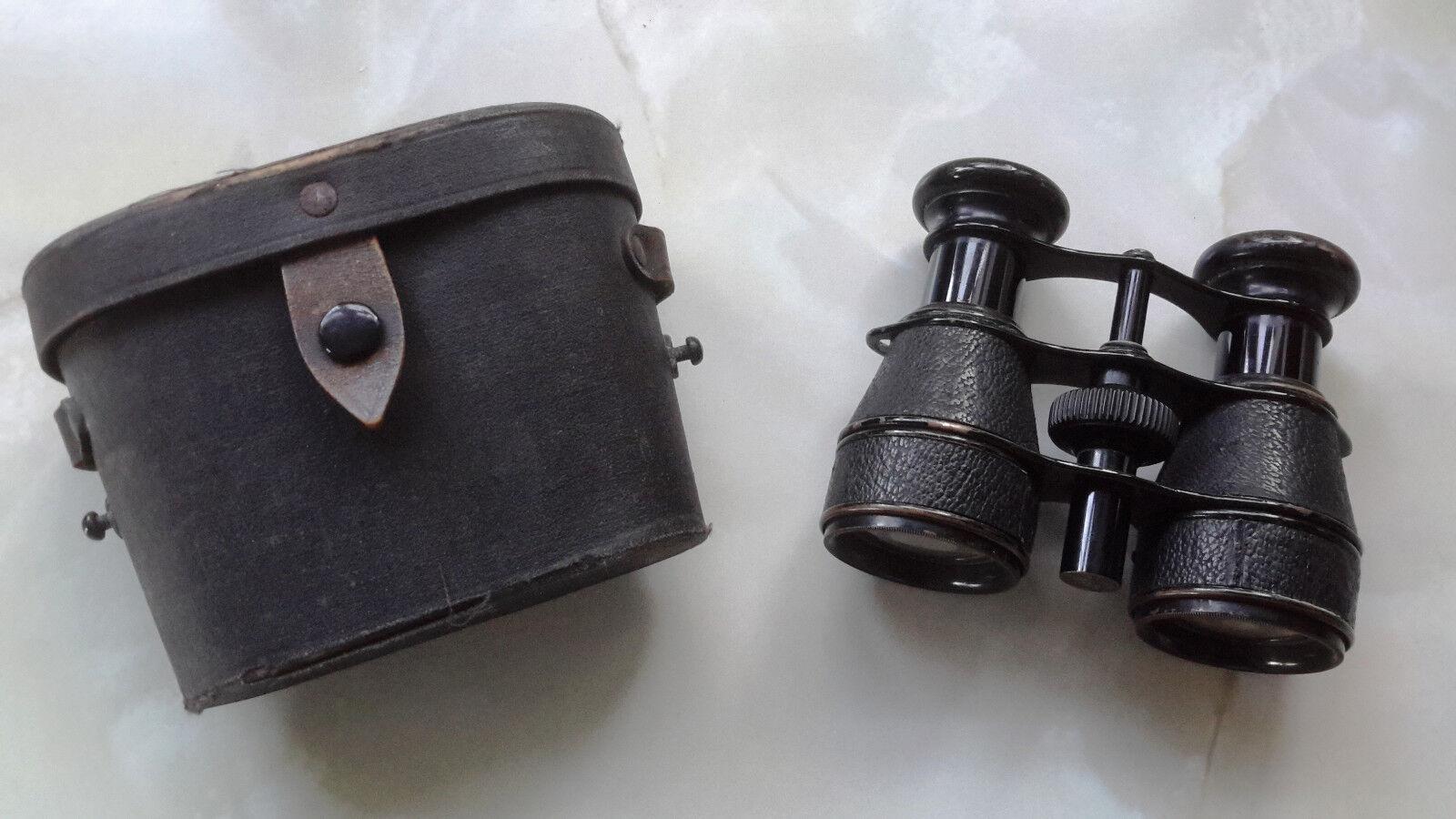 Opera Glasses Vintage in Case (Missing Shoulder Strap)