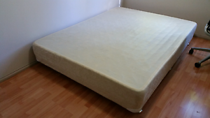Queen bed base with springs - Sleepmaker Rockingham Rockingham Area Preview