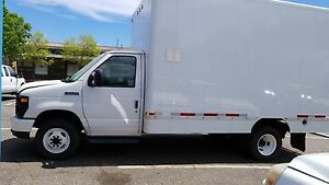 2012 Ford Econoline Commercial Cutaway E450 GAS CUBE VAN 14 FT