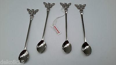 Kleiner Löffel Butterfly 4tlg Set für Mokka türkischer Tee Besteck Neu 51044 Butterfly Tee-set