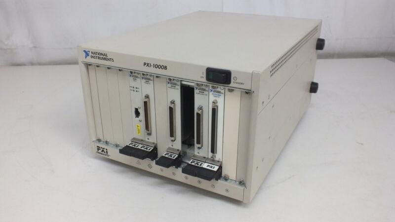 National Instruments PXI-1000B 8330 6602 6052E 6040E 6508