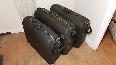 Set of 3 Samsonite Oyster Hardshell Suitcases With 2 Keys