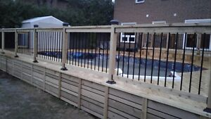 Armstrong Construction decks and fence