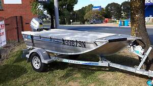SORRY HAVE BEEN SOLD - 3.25 Blue Fin Tinnie Trailer & 15HP Honda Fyshwick South Canberra Preview
