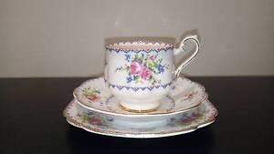 ROYAL ALBERT PETIT POINT TEA SET Malvern Stonnington Area Preview