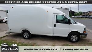 2010 Chevrolet Express G3500 4.8L V8 Bubble Van