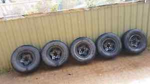 5 Performance mags suit Pajero 15x7 with 265/70r15 tyres Salisbury Salisbury Area Preview