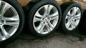 "17"" FORD XR6 Rims and Tyres 245/45R17 Dandenong South Greater Dandenong Preview"