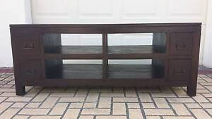 CLASSIC BALINESE TV BENCH, GC! Greenslopes Brisbane South West Preview