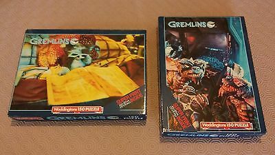 Gremlins Jigsaw Puzzles With Posters Vintage Collectors