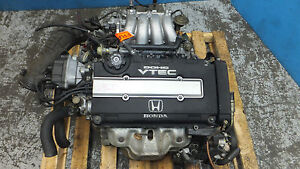 JDM-Honda-Acura-Integra-GSR-B18C-1-8L-DOHC-VTEC-OBD-2-Engine-ONLY-1996-Civic