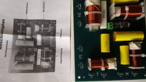 2x High Performance Audio Crossover 3 Way Great Quality 400 Watt RMS 600W Peak