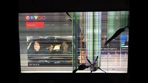 """Samsung 50"""" smart tv: use as is or parts"""