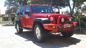 2008 jeep wrangler Seaton Charles Sturt Area Preview