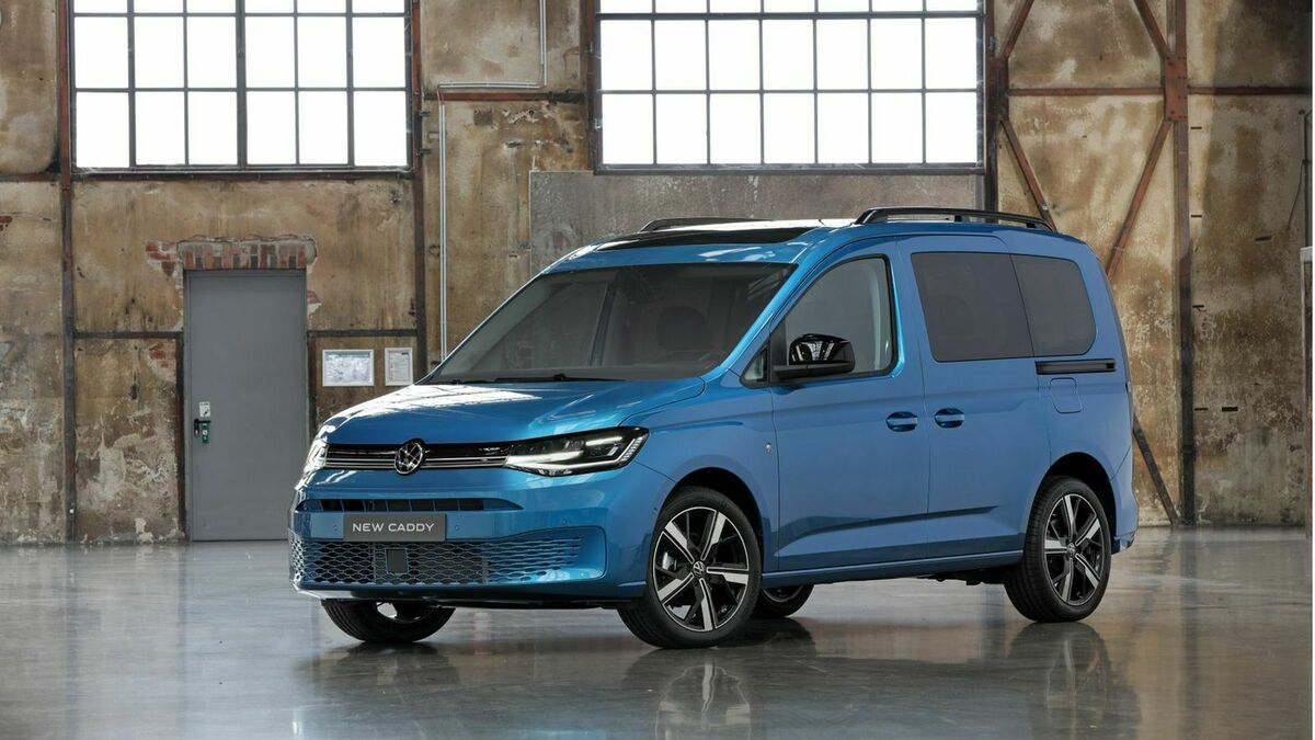 2020 VW Caddy Redesign