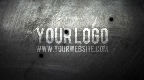I will shot your logo with three BULLET sniper rifle video intro