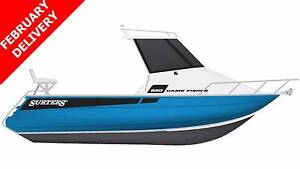 *NEW* 2017 SURTEES 650 GAME FISHER + YAMAHA 150HP 4-STROKE Boondall Brisbane North East Preview