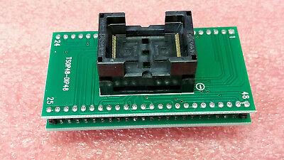 Tsop48 To Dip48 Socket Adapter Xb247 Zy248a For Xeltektnm5000 Programmers