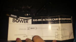 BOWER XAS MIC ACTION CAM MIC