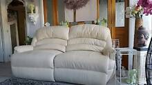GORGEOUS CREAM LOUNGE SUITE ALL RECLINER Kempsey Kempsey Area Preview