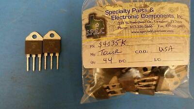 2 Pcs S4035k Teccor Thyristor Scr 400v 35a 3-pin3tab To-218