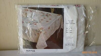 Maria Tablecloth Exclusively Made for Superior Suppliers 60 x 90 Inches