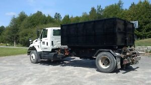 International 7600 single axle