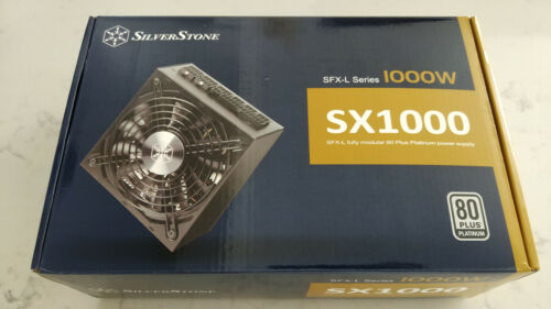 SilverStone SX1000 80+ Platinum 1000W Fully Modular SFX-L **IN HAND**SHIPS TODAY