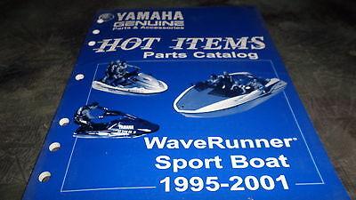 Yamaha OEM 1995 - 2001 Hot Items Parts Catalog WaveRunner Sport Boat