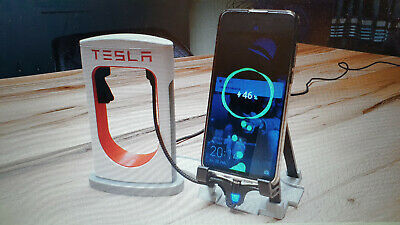 Tesla USB Supercharger Ladestation für Smartphones