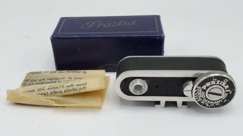 Vintage Rare - Prazisa Camera Shoe Mount Pocket Rangefinder Range Finder w/ Box