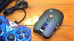 ❁ 9D FULL LED GAMING MOUSE HiGH Quality ❁ Wireless 9D❁ Parramatta Parramatta Area Preview