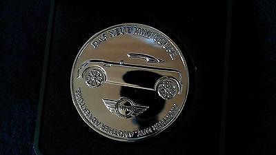 BMW Mini Roadster / Coupe Sammel Münze in edlem Etui - Selten - kein Pin