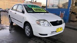 2002 Toyota Corolla Sedan ! Fully Serviced & Inspected ! Auto ! CHEAP Granville Parramatta Area Preview
