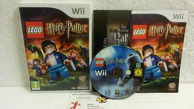 Jeu Vidéo Lego Harry Potter Années 5 à 7 VF Wii U Complet Warner TT Games Cinema