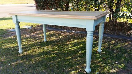 Free Shabby chic dining table unique home furniture living Griffin Pine Rivers Area Preview