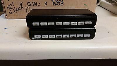 Motorola Systems 9000 Hln1365b Dek Control Head Spectra Astro Spectra