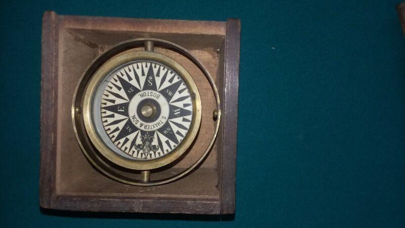 S. Thaxter & Son Compass