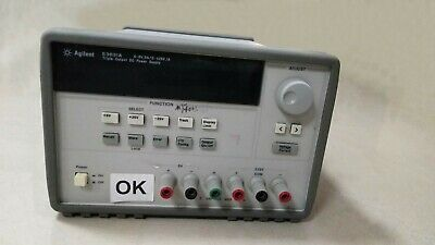 Agilent E3631a 0-6v.5a0.25v.1a Triple Output Dc Power Supply