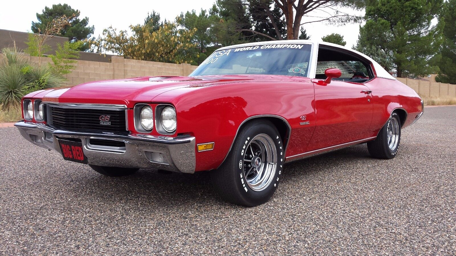 1972 Buick GS STAGE 1 : BORN OUT OF BUICK MOTOR DIVISION'S RESEARCH AND DEVELOPMENT FOR 1972 NHRA SEASON