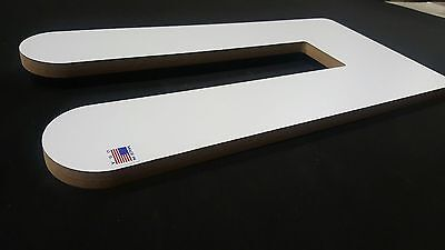 Dual Leg And Sleeve Screen Printing Platen 4x4x24  Thick Free Shipping