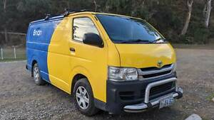 Toyota Hiace Van 2008 LWB Dual Fuel