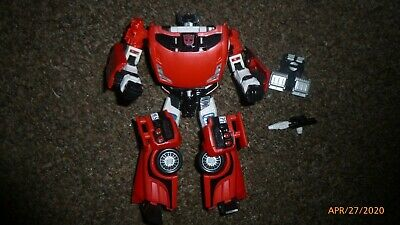 Transformers Generations Universe Classics Sideswipe Deluxe Figure Complete