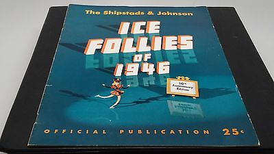 Shipstads & Johnson Ice Follies of 1946 Program 10th Anniversary Edition