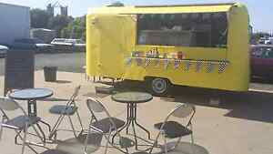 Food van Retro 60s, restored inside small business Takeaway food Kyabram Campaspe Area Preview