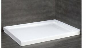 Brand new  White Acrylic shower base ( ove 32-in  W x 48- L