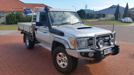 Toyota landcruiser 2010 VDJ79r GXL Tray Port Kennedy Rockingham Area Preview