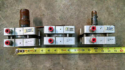 Lot Of 3 Bimba Flat-1 Flat 1 Fs-700 Fs-700.5-v Pneumatic Air Cylinder Cylinders