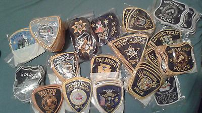 Clearance Patch Sale - NO DUPLICATES - Police/Law Enforcement